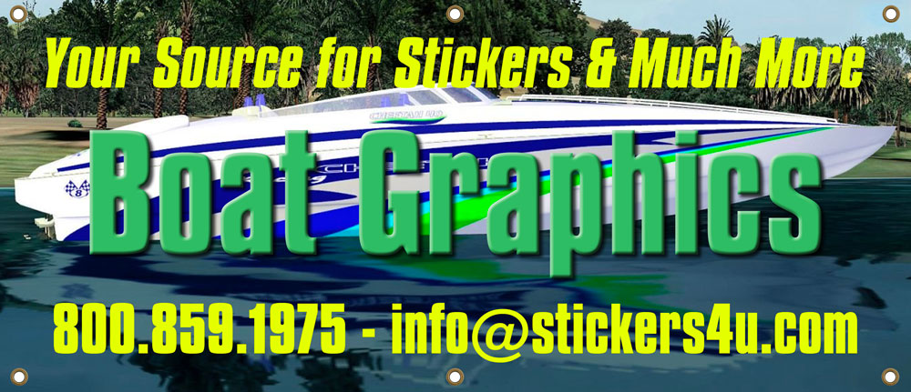 Boat Graphics Boat Decal Kits And Boat Lettering - Vinyl graphics decals for boats