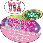 Full Color Oval Labels