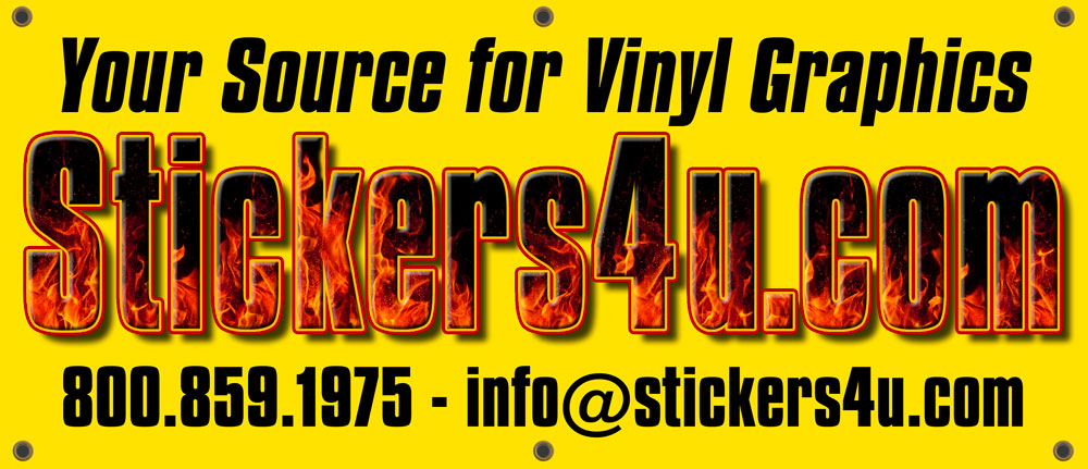 Stickers4u offers custom stickers decals bumper stickers labels printed shipping tape and